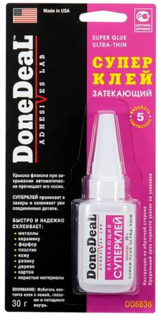 Суперклей Done Deal DD 6636 эпокси адгезив done deal dd 6538 крепче не бывает