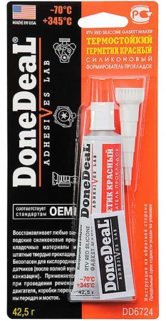 Термостойкий формирователь прокладок Done Deal DD 6724 герметик формирователь прокладок donedeal термостойкий силикон серый