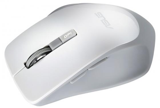Купить Мышь беспроводная ASUS WT425 белый USB + радиоканал 90XB0280-BMU010