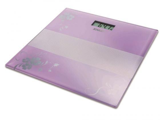 Весы напольные Scarlett SC-BS33E060 фиолетовый весы напольные scarlett sc bsd33e894