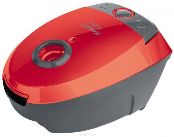 Пылесос Scarlett SC-VC80B07 с мешком сухая уборка 1500Вт красный радиатор масляный scarlett sc 41 1507 1500вт 7секц