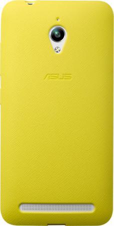 Задняя крышка Asus для ZenFone GO ZC500TG PF-01 BUMPER CASE желтый 90XB00RA-BSL3Q0