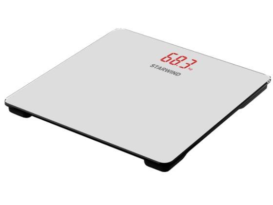 Весы напольные StarWind SSP5451 белый весы starwind весы напольные starwind ssp5451 белый