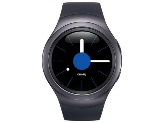 Смарт-часы Samsung Galaxy Gear S2 SM-R7200 серый черный SM-R7200ZKASER