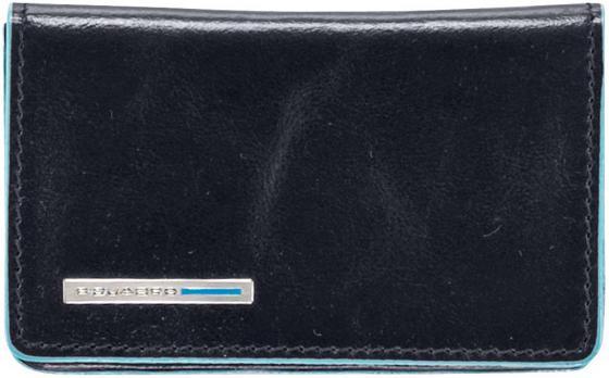 Чехол Piquadro Blue Square для кредитных/визитных карт кожа PP1263B2/BLU2