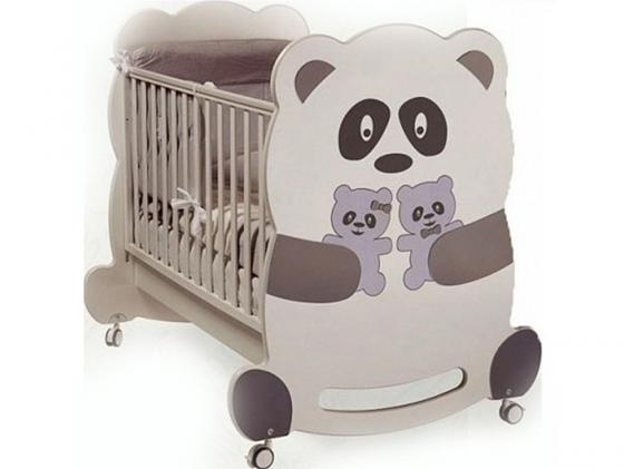Кроватка-качалка Feretti Velvet (panda) пьедестал gala emma square 27430