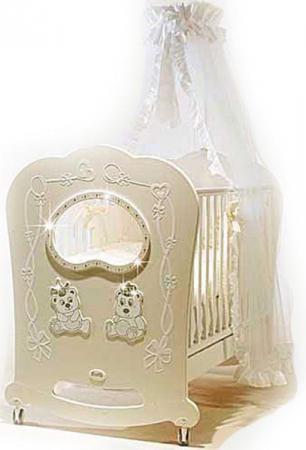 Кроватка-качалка Feretti Majesty (avorio)