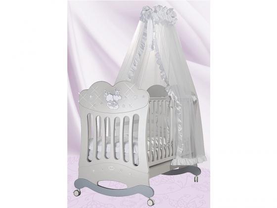 Кроватка-качалка Feretti Etoile Bliss (grigio/chiaccio-ice gray) feretti детская etoile dargent белая