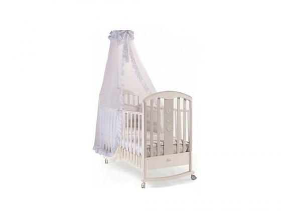 Кроватка-качалка Feretti Elegance Dondolo (grigio/chiaccio-ice gray) детские кроватки feretti elegance dondolo качалка