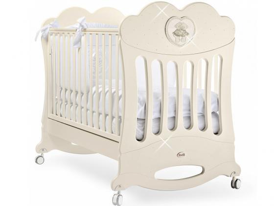 Кроватка-качалка Feretti Chaton (avorio) кроватка с маятником feretti fms elite avorio