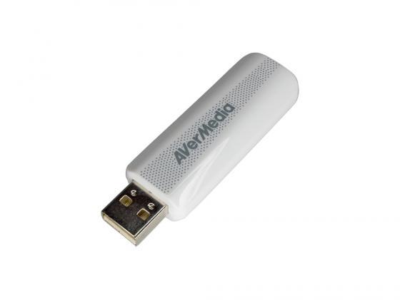 Тюнер цифровой ТВ и FM AVerMedia TD310 USB внешний тв тюнер читающий все форматы