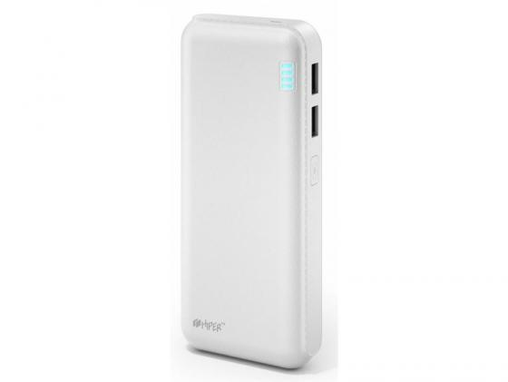 Портативное зарядное устройство HIPER SP20000 20000мАч белый портативное зарядное устройство hiper ep6600 grafiti 6600мач