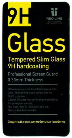 Защитное стекло Red Line для Meizu MX4 tempered glass роскошь бизнес стиль слот для карты бумажник кожа pu откидная крышка для meizu mx4 дело телефон кожного покрова с подставкой и держателя карты