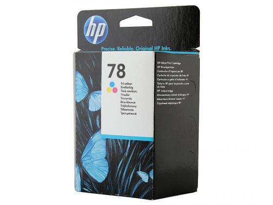 Картридж HP C6578D №78 для DeskJet920C 960C 970C 980C 990C цветной hp c6578de 78 color струйный картридж