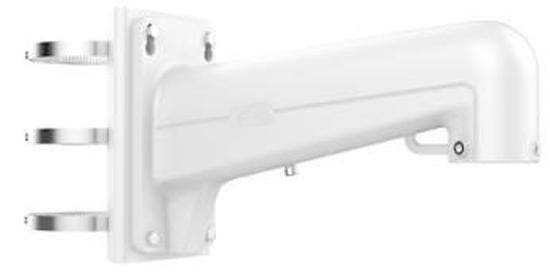 цена на Кронштейн для камер Hikvision DS-1602ZJ-POLE алюминиевый белый