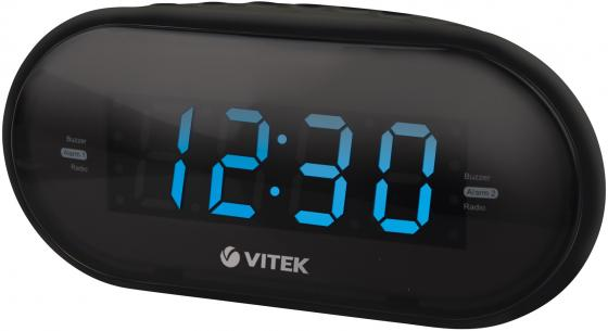 Часы с радиоприёмником Vitek VT-6602BK часы vitek vt 6602 bk