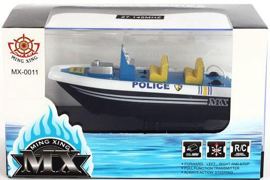 Катер на радиоуправлении Shantou Gepai 4-х канальный синий от 6 лет пластик МХ-0011-7 катер на радиоуправлении shantou gepai yacht racing пластик от 3 лет цвет в ассортименте 4 канала