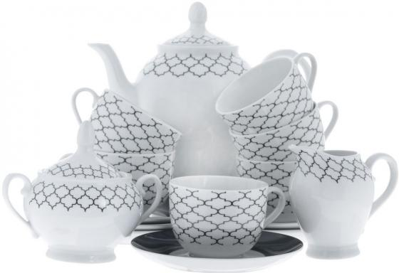 Сервиз чайный Bekker BK-7145 15 предметов 6 персон сервиз чайный bekker bk 7146 15 предметов 6 персон