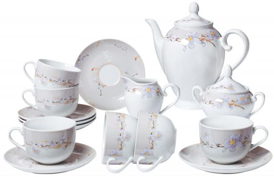 Сервиз чайный Bekker BK-7146 15 предметов 6 персон сервиз чайный bekker bk 7146 15 предметов 6 персон
