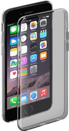Чехол Deppa Gel Case для iPhone 6 iPhone 6S чёрный + защитная пленка прозрачный-черный 85203 deppa чехол air case и защитная пленка для iphone 5 5s