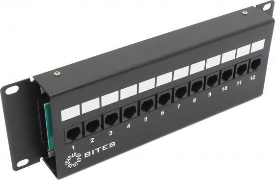 Патч-панель 5bites LY-PP5-48 UTP 5е кат 12 портов