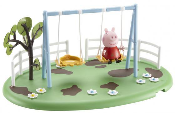 Игровой набор Peppa Pig Игровая площадка: Качели Пеппы 28776 конструктор big игровая площадка peppa pig 57076