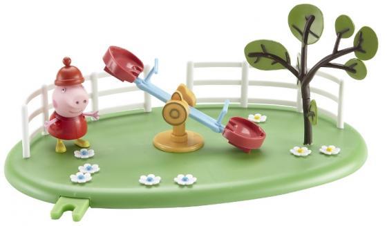 Игровой набор Peppa Pig Игровая площадка: Качели-качалка Пеппы 2 предмета 28775 конструктор big игровая площадка peppa pig 57076
