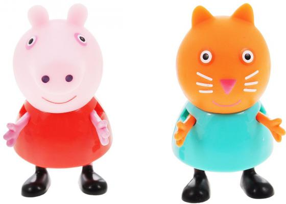 Игровой набор Peppa Pig Пеппа и Кенди 2 предмета 28818 mini water mist fan usb water spray cooling fan small portable air conditioner humidification cooling fan for office and home