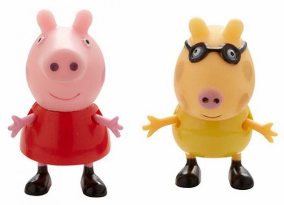 Игровой набор Peppa Pig Пеппа и Педро 2 предмета 28817 росмэн игровой набор пеппа на каникулах peppa pig
