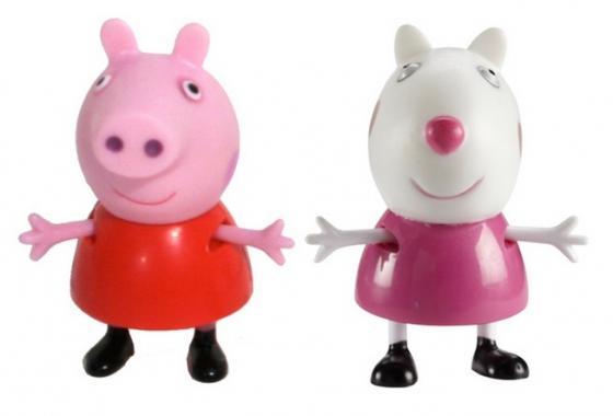 Игровой набор Peppa Pig Пеппа и Сьюзи 2 предмета 28816 экран для видеопроектора draper consul av 1 1 152 152 xt1000e mw 216003b