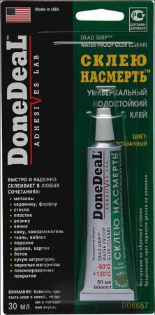 Водостойкий клей Done Deal DD 6657 Склею насмерть герметик клей done deal для стекол прозрачный силиконовый dd 6705