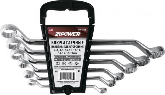 Набор гаечных ключей ZIPOWER PM 4196 6шт автомобильный компрессор с пылесосом zipower pm 6510 15л мин