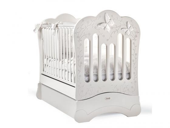 Кроватка с маятником Feretti FMS Charme (bianco) кроватка с маятником feretti fms oblo majesty brillante bianco