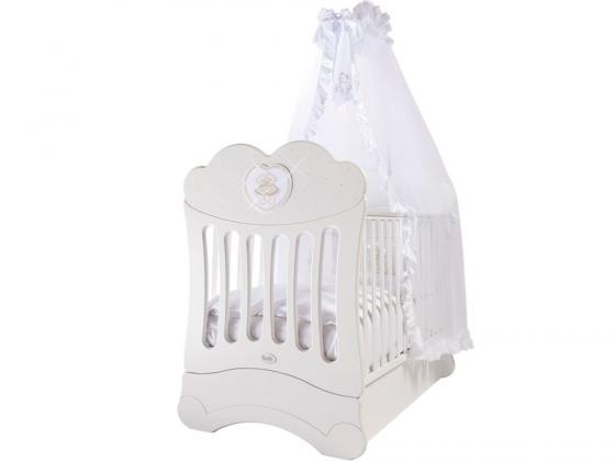 Кроватка с маятником Feretti FMS Chaton (bianco) кроватка с маятником feretti fms elite avorio