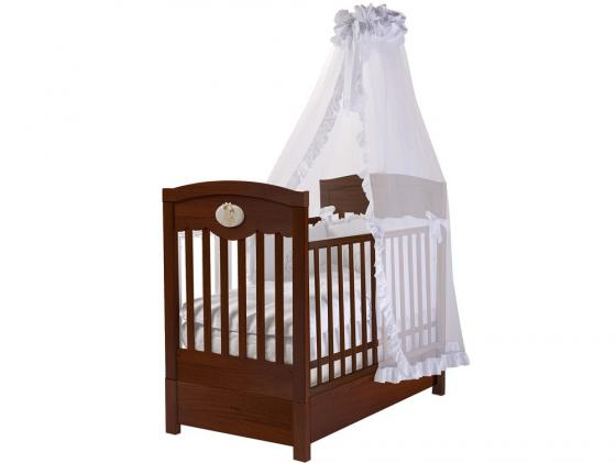 Кроватка с маятником Feretti FMS Enchant (noce scuro) детские кроватки feretti enchant dondolo качалка