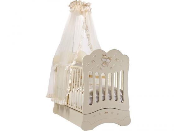 Кроватка с маятником Feretti FMS Etoile (avorio) потолочный светильник maytoni basfor c100 pt45 g