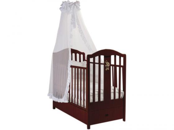 Кроватка с маятником Feretti FMS Ricordo (noce) кроватка с маятником feretti fms elite avorio