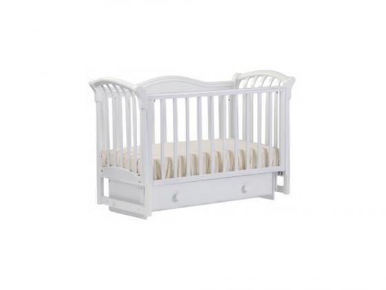 Кроватка с маятником Лель Азалия БИ10.2 (белый) кроватка качалка лель лютик аб 15 1 белый