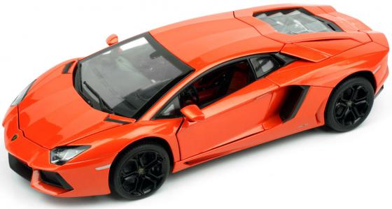 Автомобиль Rastar Lamborghini Aventador LP700 1:18 61300 автомобиль bburago lamborghini sesto elemento 1 24 18 21061