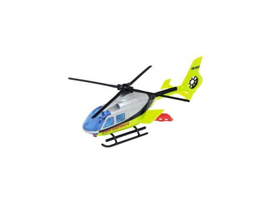 Вертолет Dickie City Express 1 шт 24 см разноцветный 3565423 автотрек dickie simba 3083077 спайдер мэн