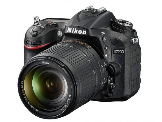 Зеркальная фотокамера Nikon D7200 KIT AF-S DX 18-140 VR 24.2Mp VBA450KR01 профессиональная цифровая slr камера nikon d3200 18 55mmvr