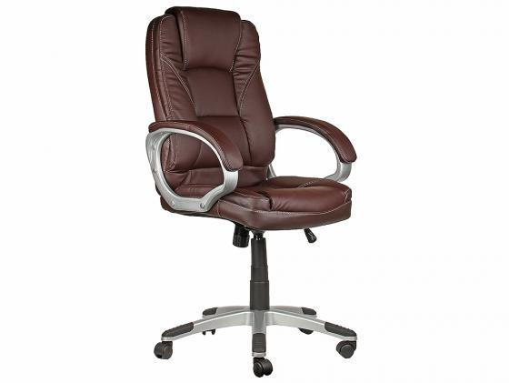Кресло руководителя CollegeBX-3177 экокожа коричневый цена и фото
