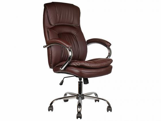 Кресло руководителя College BX-3001-1 экокожа коричневый цена и фото