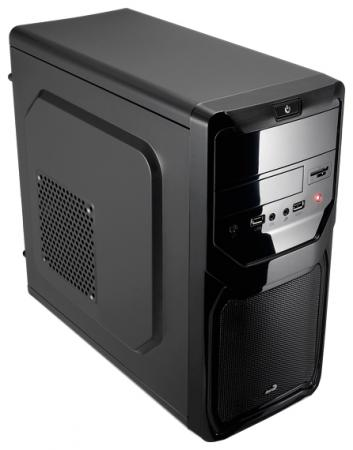 Корпус microATX Aerocool Qs-183 Advance 450 Вт чёрный qs 183 advance blue
