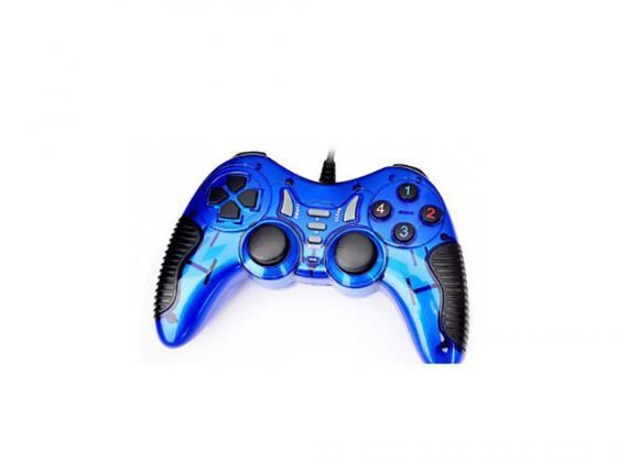 лучшая цена Геймпад 3Cott Single GP-06BL синий USB