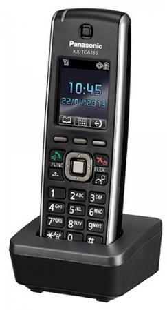 Радиотелефон DECT Panasonic KX-TCA185RU черный радиотелефон