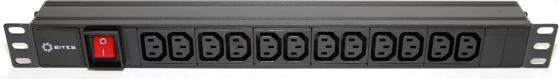 Блок розеток 5bites PDU1219A-09 12 розеток черный