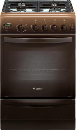Газовая плита Gefest ПГ 5100-04 0003 коричневый плита газовая gefest 5100 03 0003