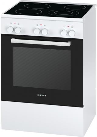Электрическая плита Bosch HCA623120R белый дрель электрическая bosch psb 500 re 0603127020 ударная