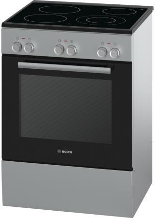 Электрическая плита Bosch HCA623150R серебристый